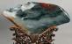 桂林市工艺美术大师林粦忠鸡血玉作品:象山风光