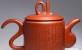 广西工艺美术大师唐小红作品:九龙紫砂壶