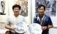 中华工艺美术网副总编唐国宣采访广西工艺美术大师关永华
