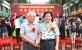 中华工艺美术网副总编唐国宣采访中国毛体书法家协会班兵