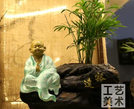 深圳茶艺陶瓷工艺美术品亮相南宁