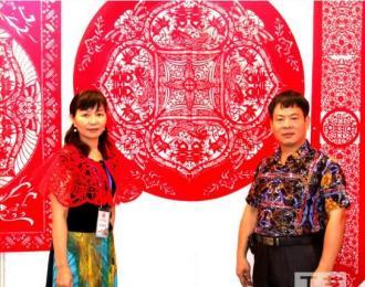 广西民间剪纸艺术家唐美兰:传统文化的魅力 迷着你我她