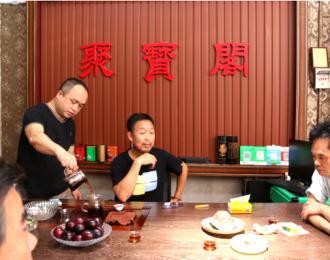 中国民协副主席韦苏文一行看望广西工艺美术大师蒋昌松