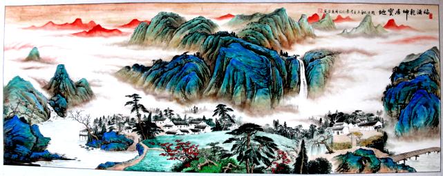 广西青年一级牡丹花画师林庆平:让山水醉美你的心灵