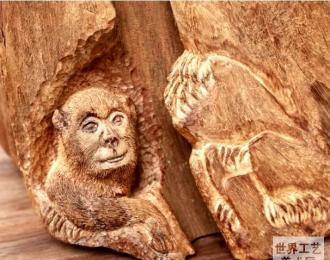 美猴王(书画)工艺美术师莫世忠:30年艺术创作谱春秋